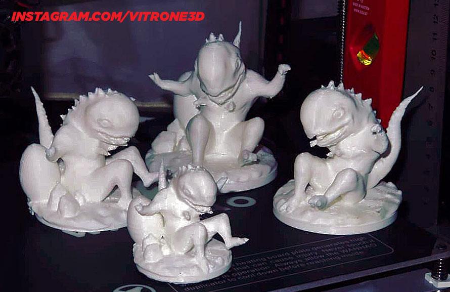 BoBy 3D nyomtatott figura - Alfa verzió